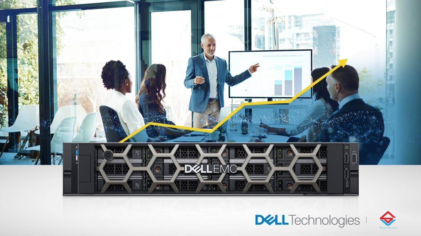 """Dell EMC PowerEdge R540 - """"cánh tay phải"""" cho doanh nghiệp đang phát triển"""