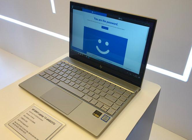 HP trình làng dòng laptop Envy 13 mỏng nhẹ thế hệ mới