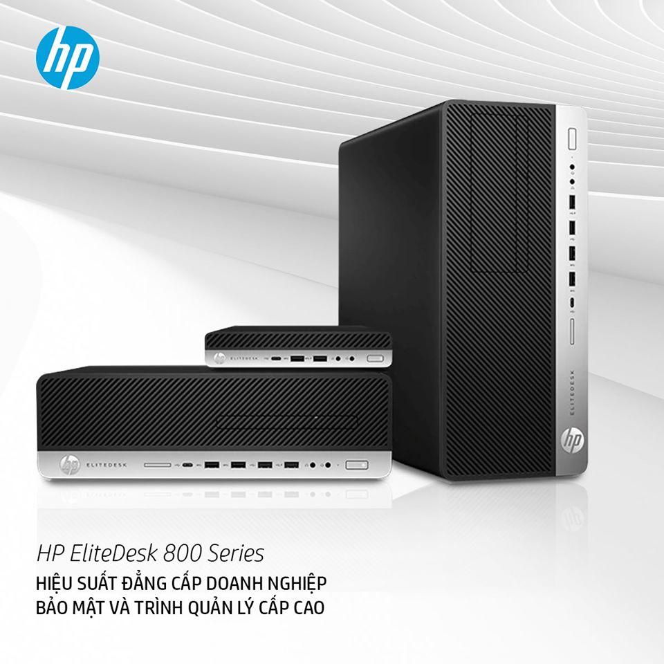 HP EliteDesk 800 Series HIỆU SUẤT ĐẲNG CẤP DOANH NGHIỆP BẢO MẬT VÀ TRÌNH QUẢN LÝ CẤP CAO