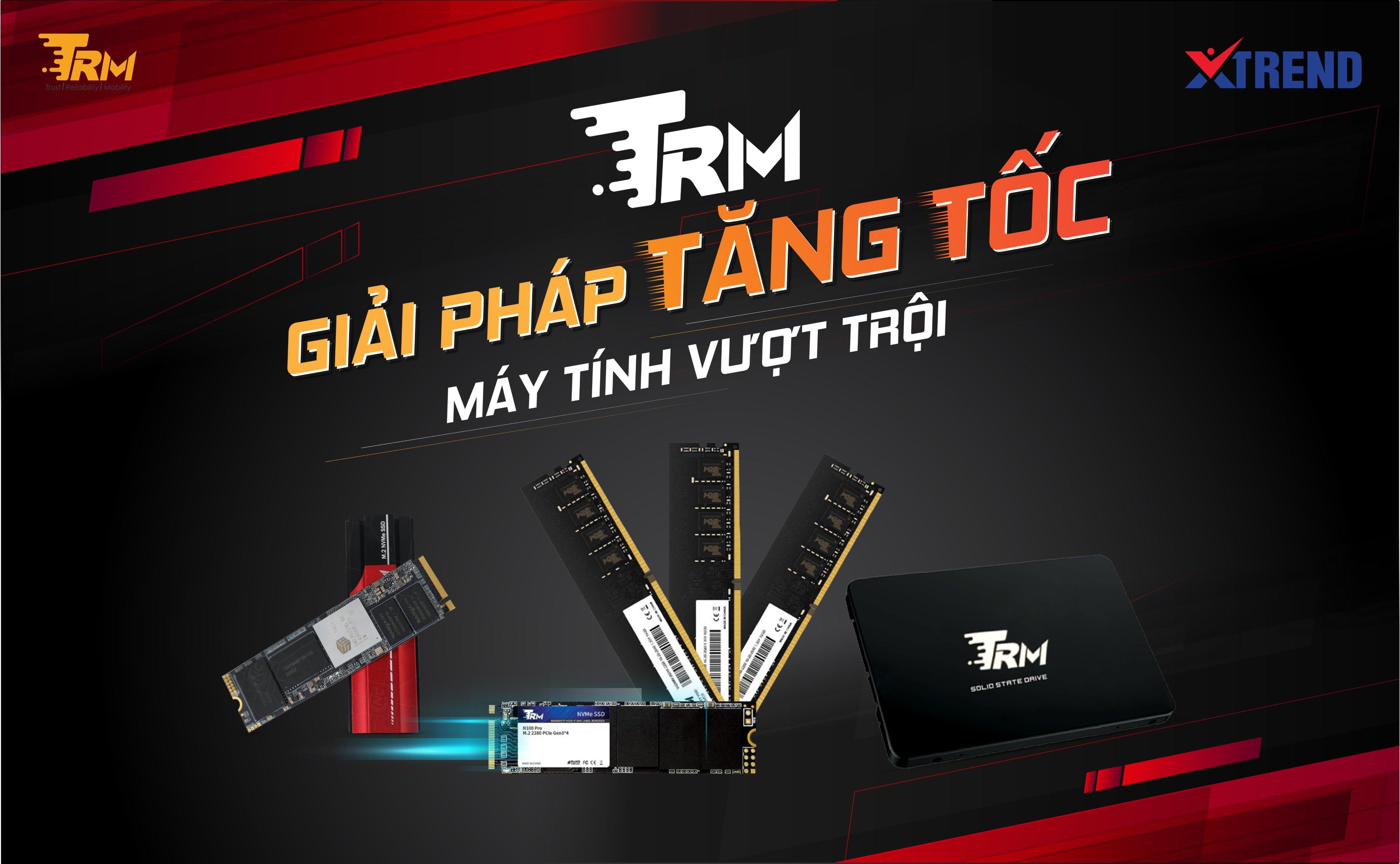 """Ổ cứng SSD TRM - """"Tân binh"""" đáng gờm trong phân khúc phổ thông"""