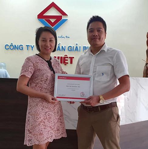 Siêu Việt nhận chứng nhận nhà phân phối từ Hãng CyberPower