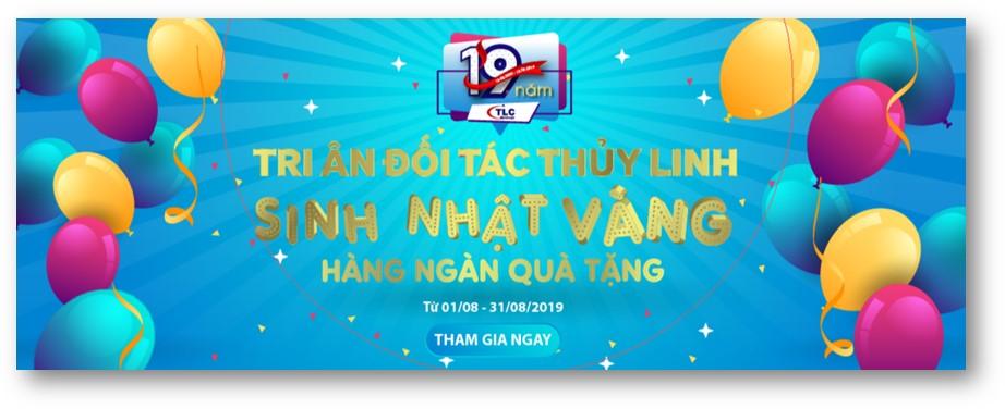 Siêu Việt chúc mừng sinh nhật Thủy Linh 19 tuổi, hàng ngàn quà tặng hấp dẫn đang chờ đón quý khách!