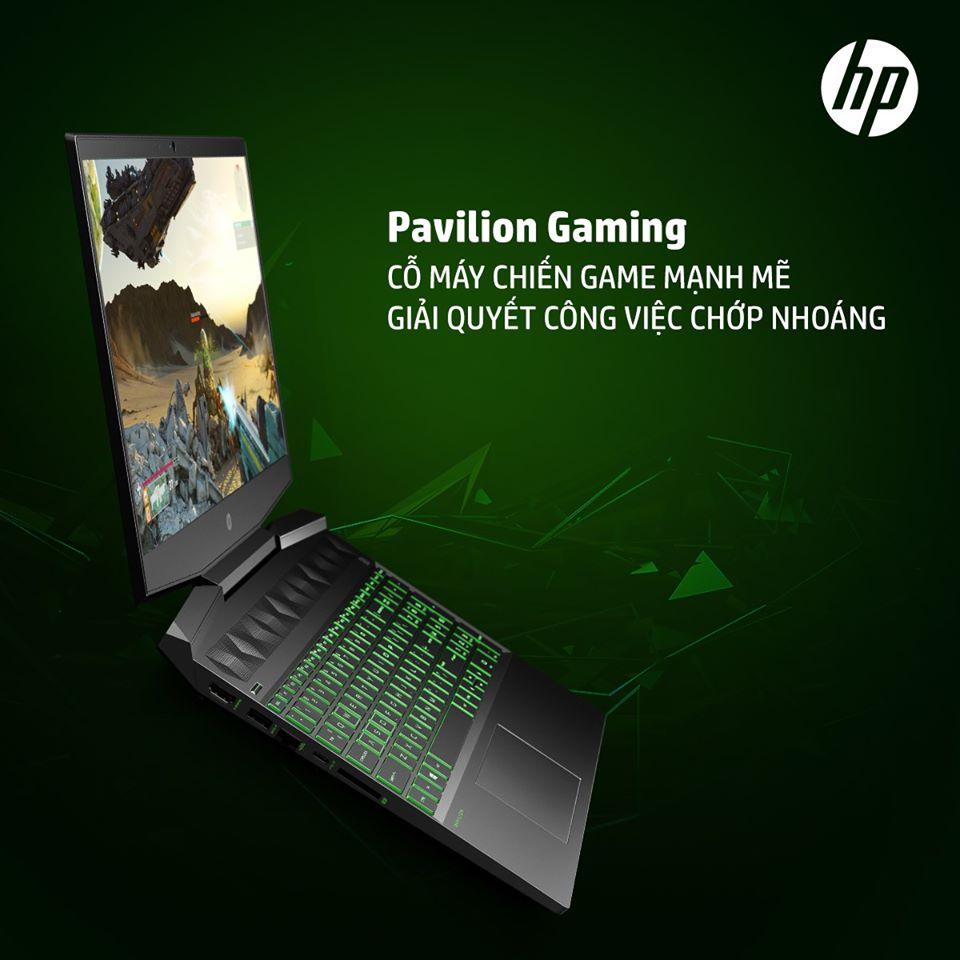 HP PAVILION GAMING CỖ MÁY CHIẾN GAME MẠNH MẼ, GIẢI QUYẾT CÔNG VIỆC CHỚP NHOÁNG