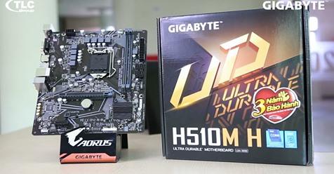 Mainboard Gigabyte H510M-H là bo mạch chủ tầm trung của Gigabyte