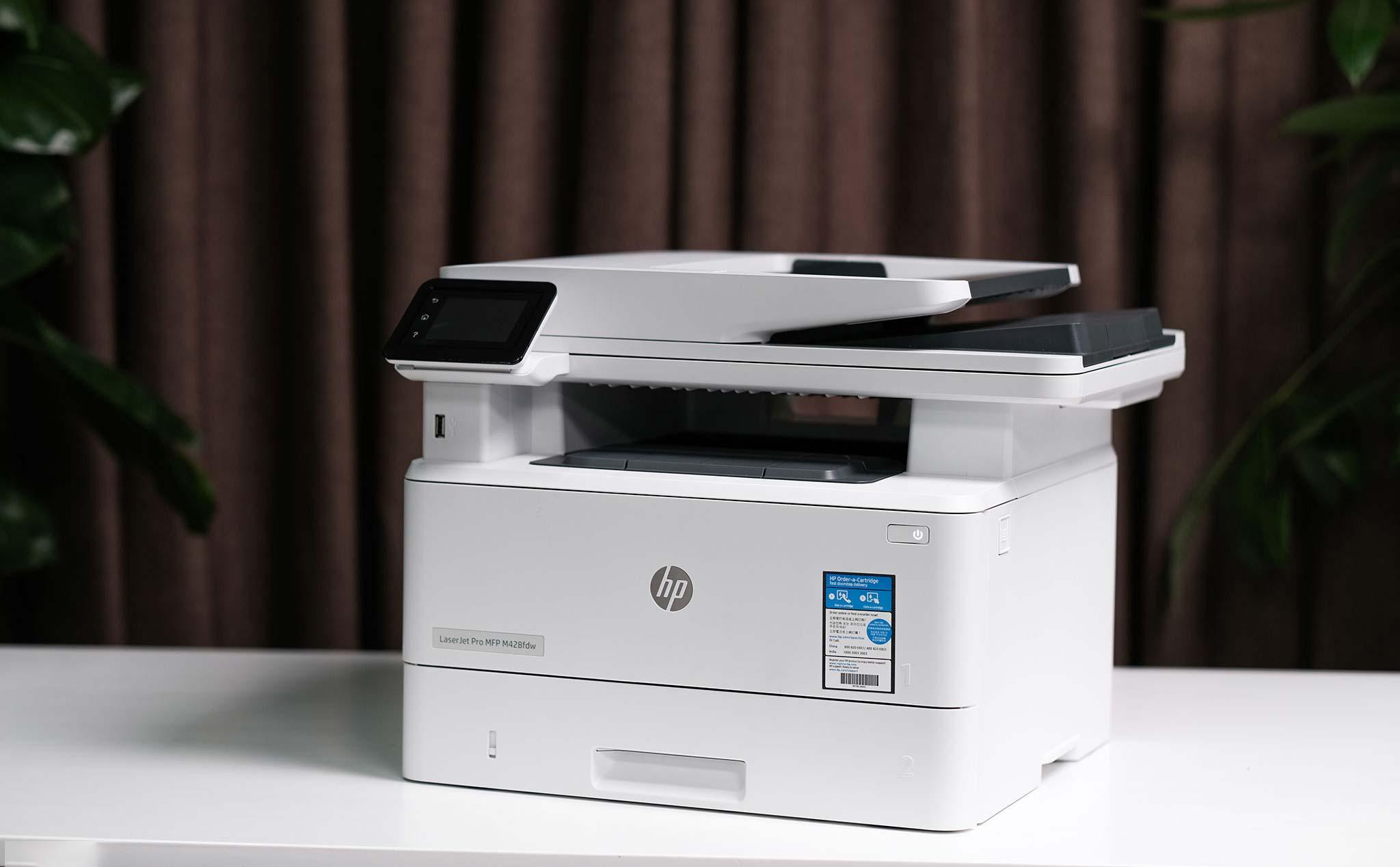Trên tay máy in HP LaserJet Pro MFP M428: lựa chọn tốt cho doanh nghiệp