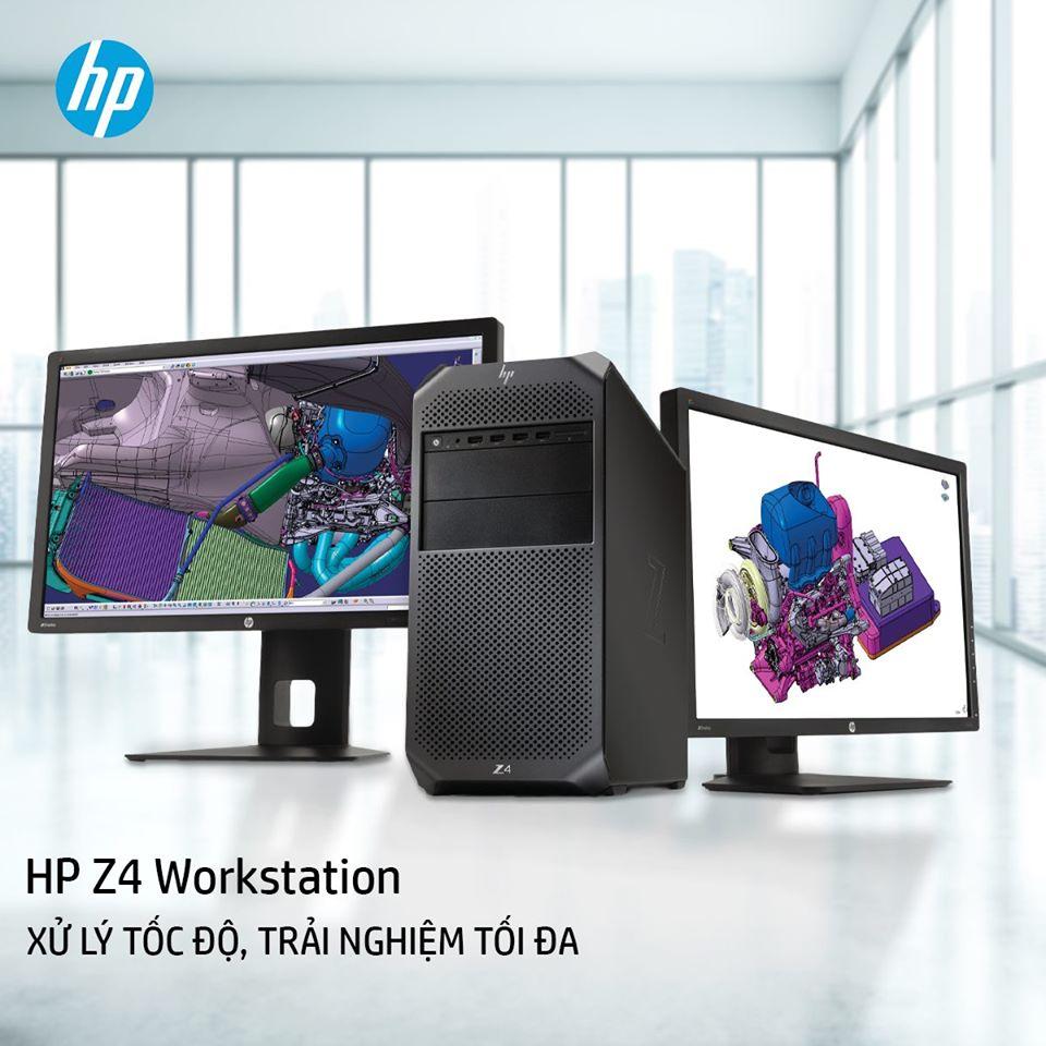 HP Z4 Workstation XỬ LÝ TỐC ĐỘ, TRẢI NGHIỆM TỐI ĐA
