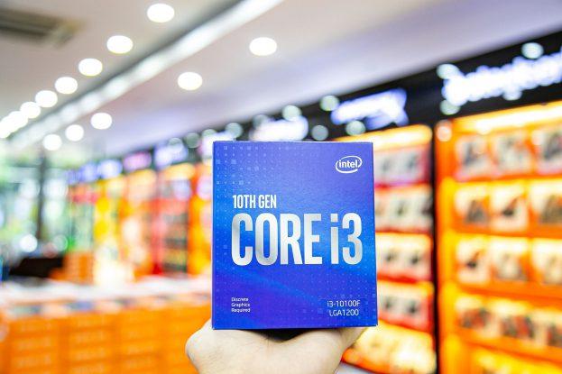 INTEL CORE I3-10100F CPU HOÀN HẢO CHO CÁC BỘ MÁY CHƠI GAME CƠ BẢN