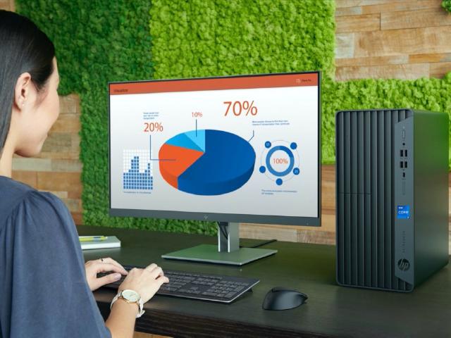 Máy bàn HP đa tiện ích hỗ trợ làm việc từ xa