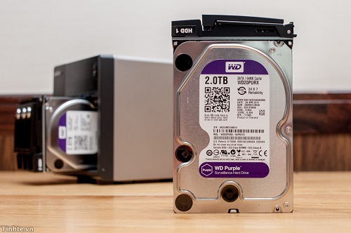 Đánh giá nhanh WD Purple: ổ cứng 3.5