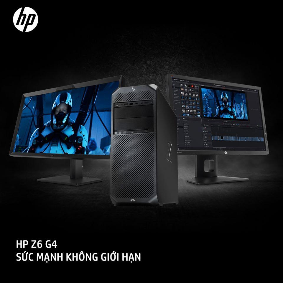 HP Z6 G4 - SỨC MẠNH KHÔNG GIỚI HẠN