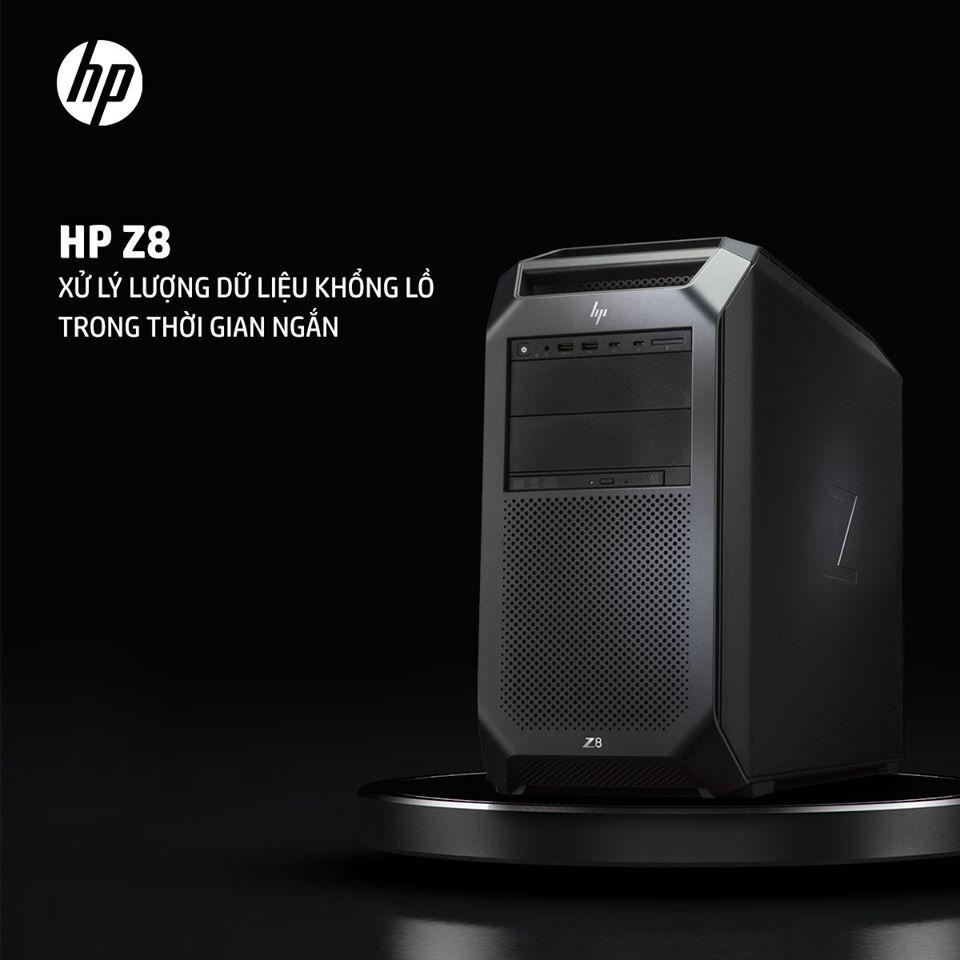 HP Z8 - XỬ LÝ LƯỢNG DỮ LIỆU KHỔNG LỒ TRONG THỜI GIAN NGẮN